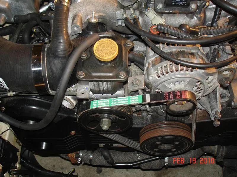 2009 subaru legacy engine compartment diagram