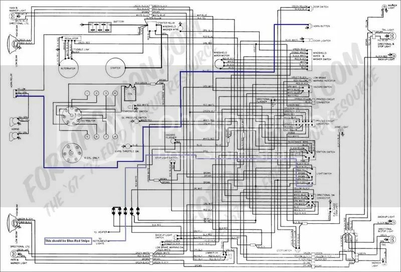 1971 Mustang Ignition Wiring Diagram