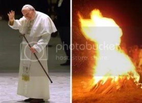pope_fire Pictures, Images and Photos