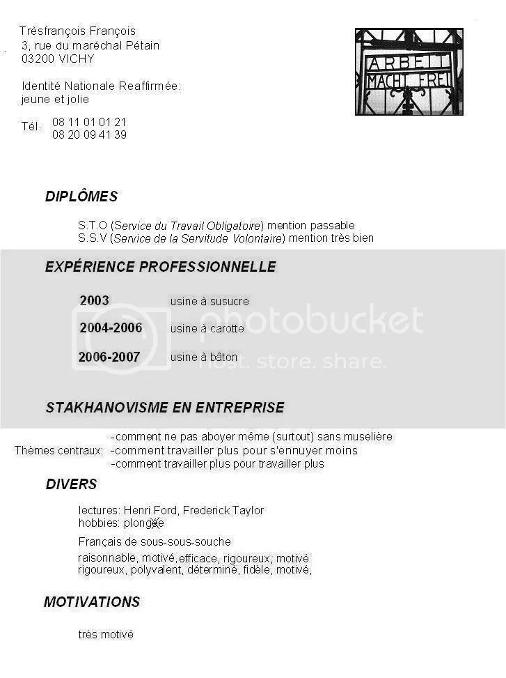 exemple de cv technicienne de surface