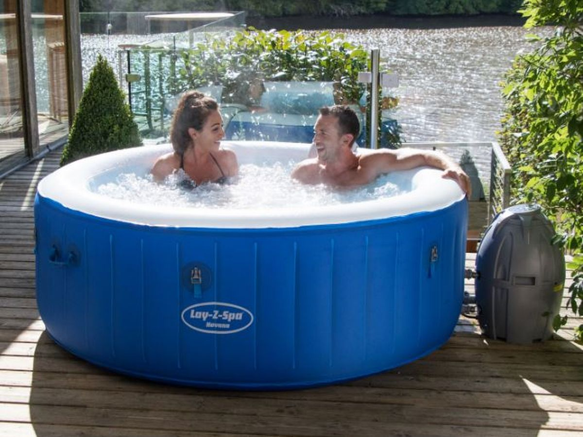 Jacuzzi Pool Top Caps Cheapest Places To Get A Hot Tub From B Q To Argos Asda To Amazon