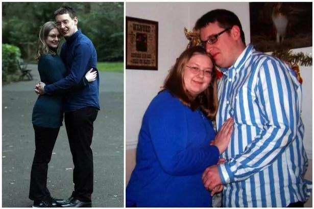 Gateshead couple\u0027s incredible 13st weight loss helps them take