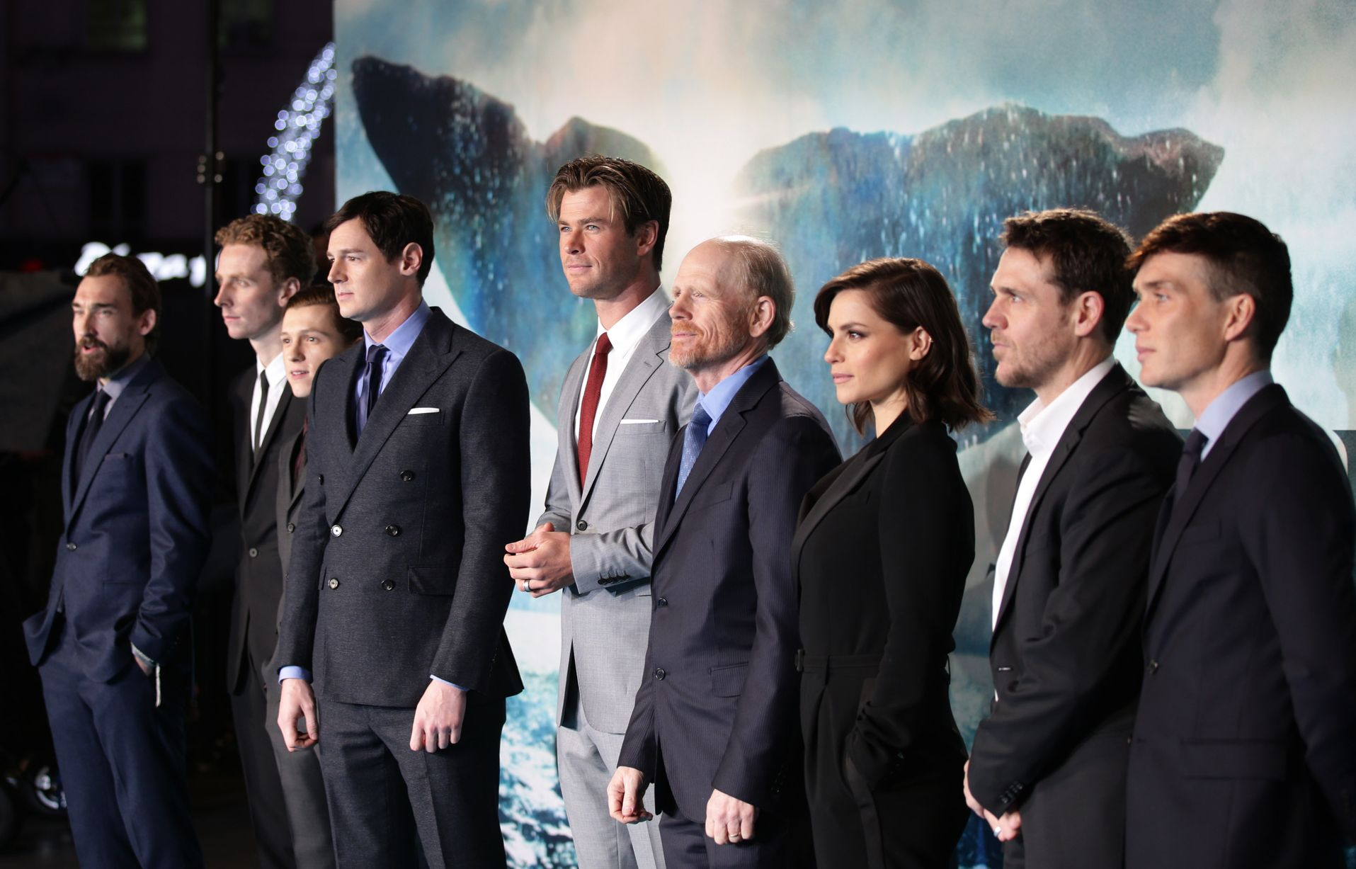 In The Heart Of The Sea Movie Premiere Chronicle Live