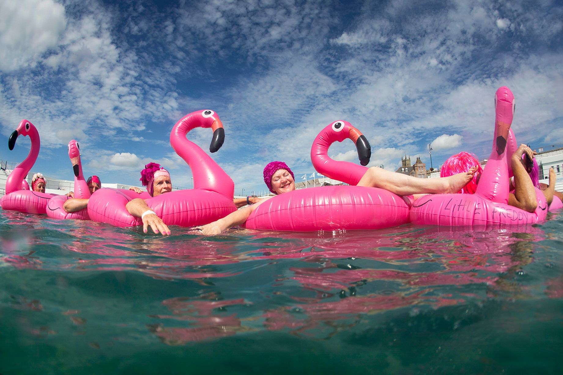 Flamingo Pool Dates 17 Photos From Jubilee Pool S Glorious Opening Day