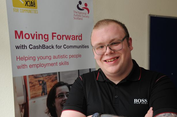 Autistic Cambuslang teenager Anton hopes to help others get work