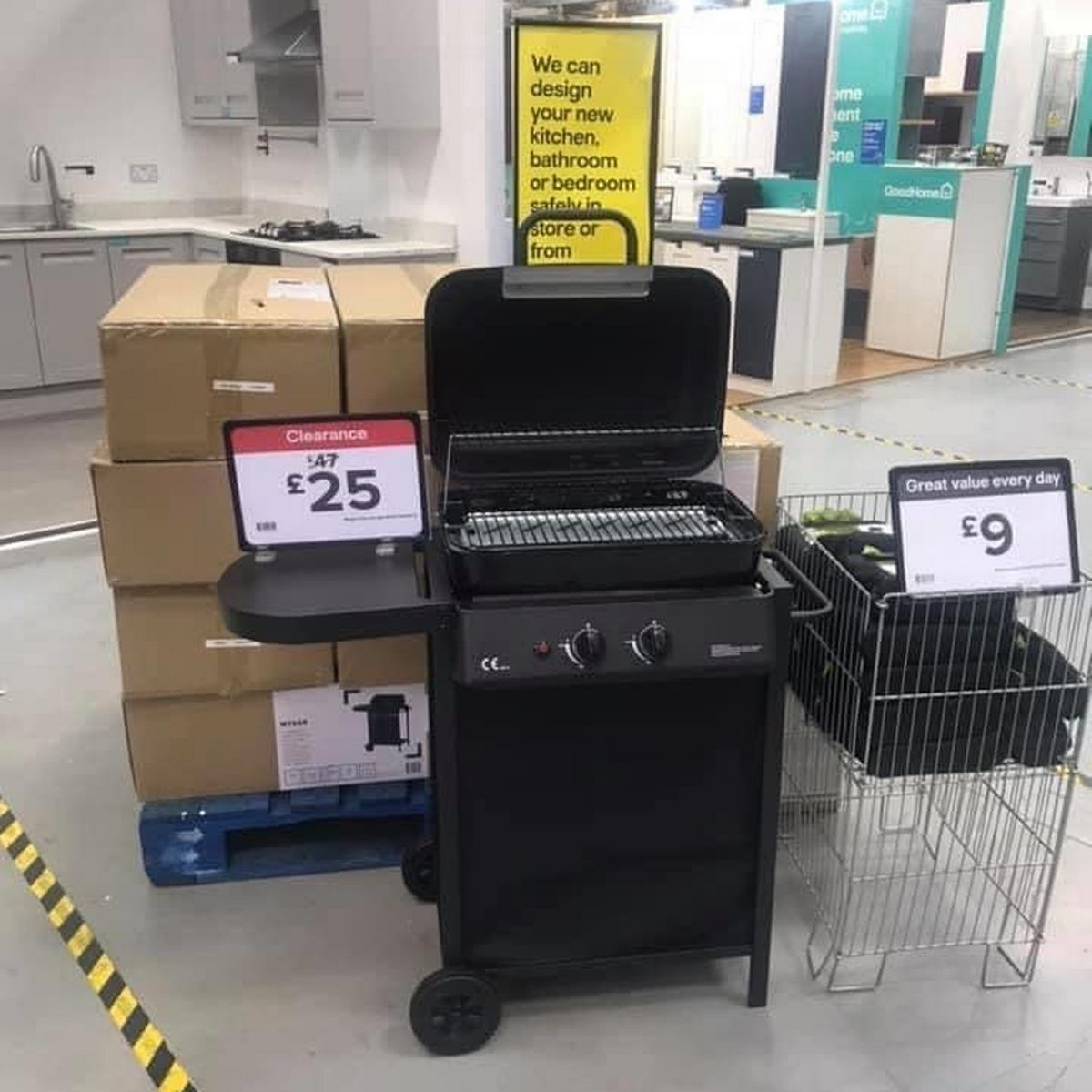 B Q Launches Massive Summer Clearance With Reductions Including A Stylish Gas Bbq Down To Just 25 Daily Record - Morrisons Garden Furniture Clearance