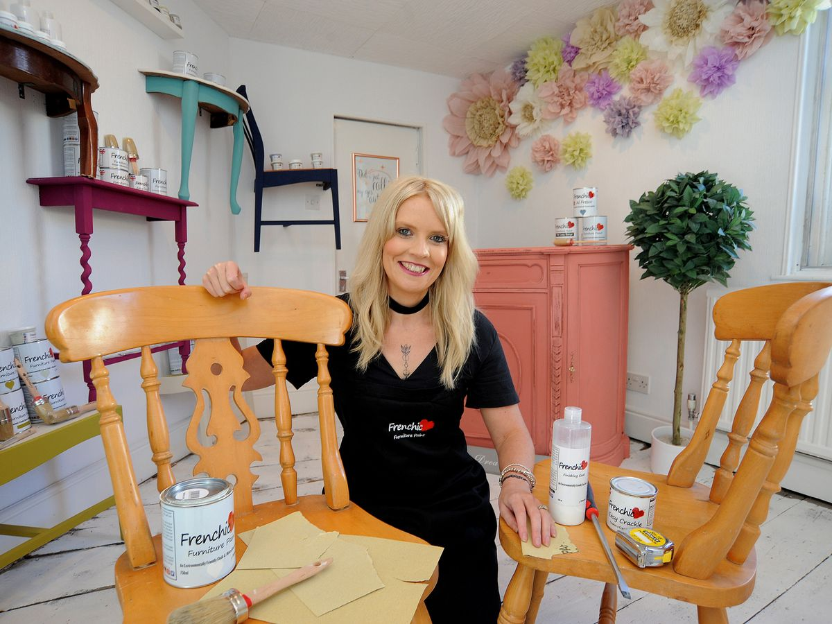 Young Mum Opening New Handmade And Upcycled Store After Facebook Furniture Business Went Crazy Teesside Live