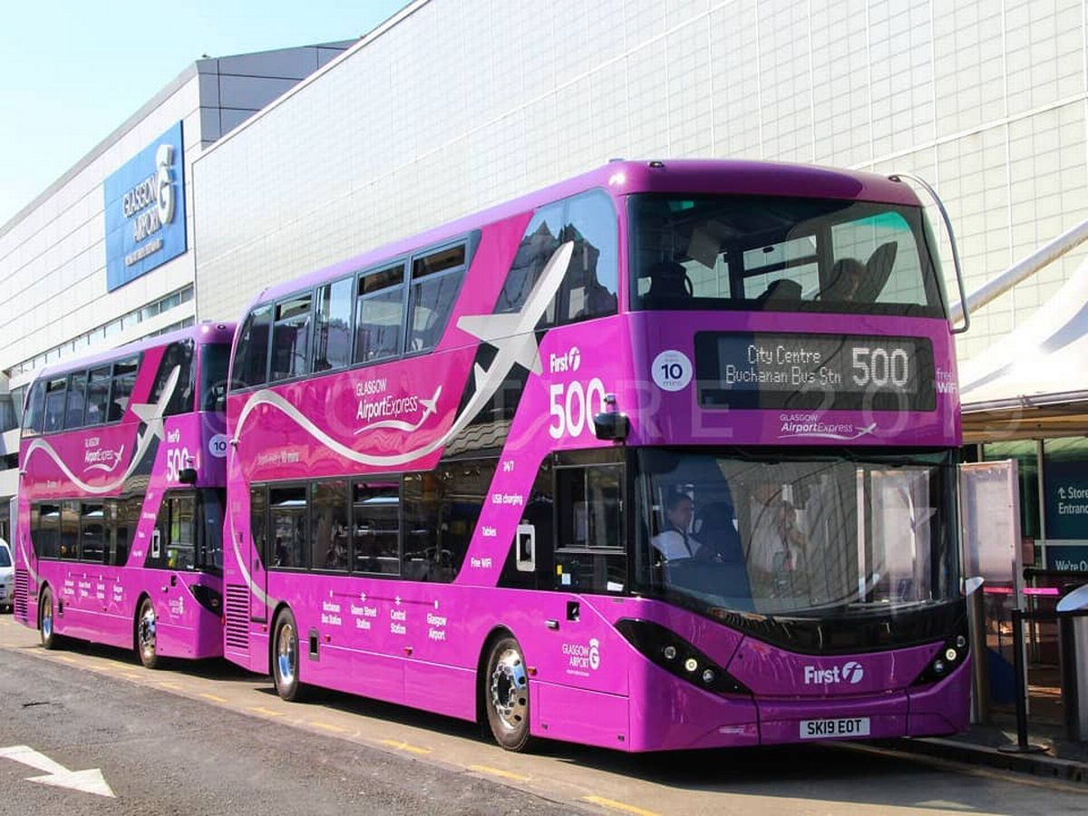 Stansted Car Village Shuttle Glasgow Airport Express Bus Service Among Most Expensive In
