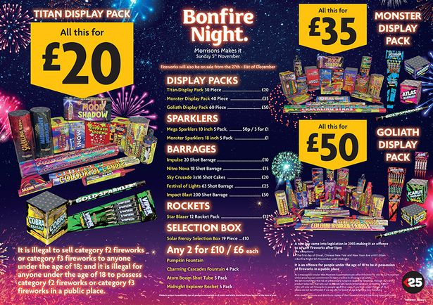 Lidl Cakes The Best Firework Offers And Bundle Deals From Aldi, Tesco