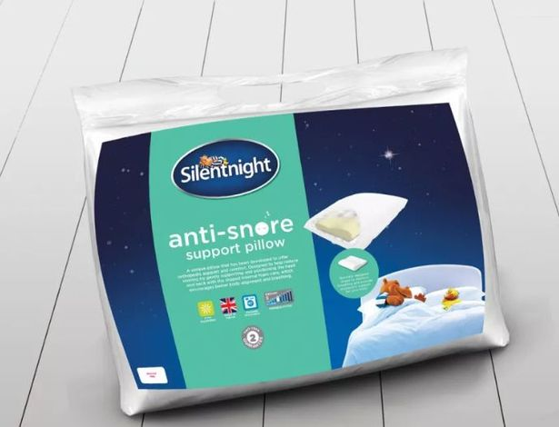 Aldi Is Selling A Slumberdown Anti Snore Pillow And It39s