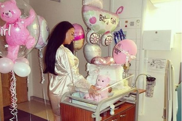 Chelsee Healey shares adorable first photo of baby girl after