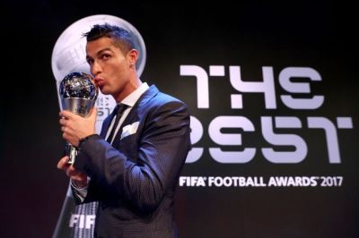 Everyone is loving Lionel Messi's reaction to Cristiano Ronaldo winning FIFA's men's player of ...