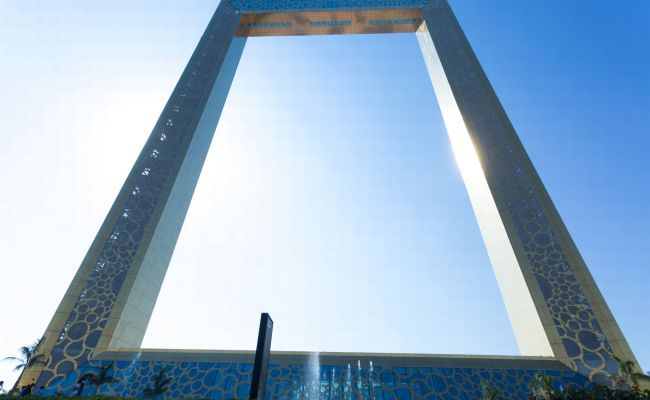 Dubai Frame Offers Picture Perfect Views Of The City S Old And New Neighbourhoods And You Can