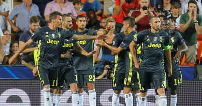 Valencia 0-2 Juventus live score and goal updates as Cristiano Ronaldo is sent off in Champions ...