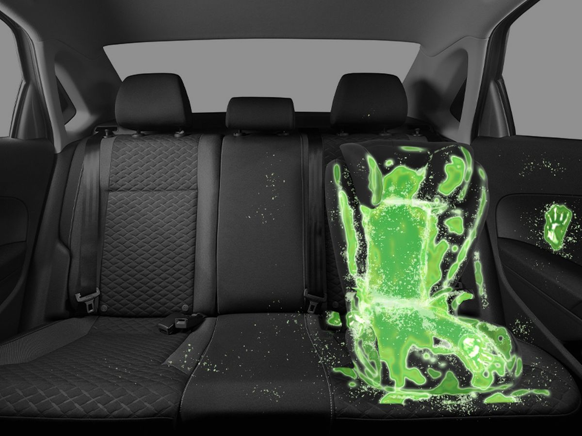 Toddler Car Dashboard Horrifying Amount Of Harmful Bacteria On Children S Car