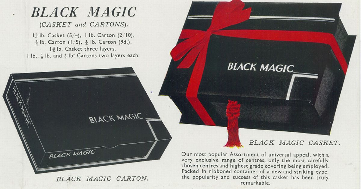 Flights Online Secrets Of Black Magic Chocolate Box Revealed In