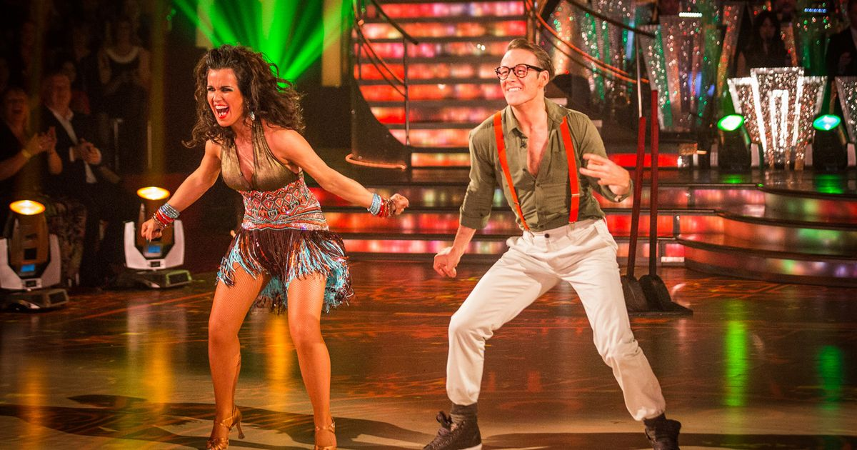 F1 News Bbc Strictly Come Dancing's Susanna Reid Goes 'bounce And