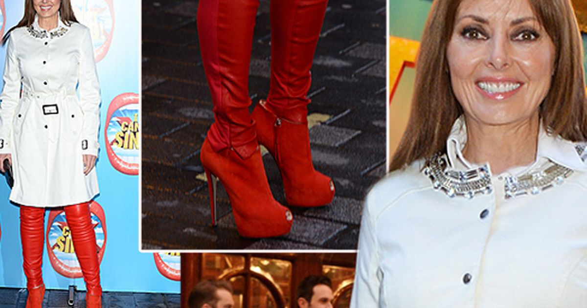 X Factor Musical Carol Vorderman In Thigh High Boots