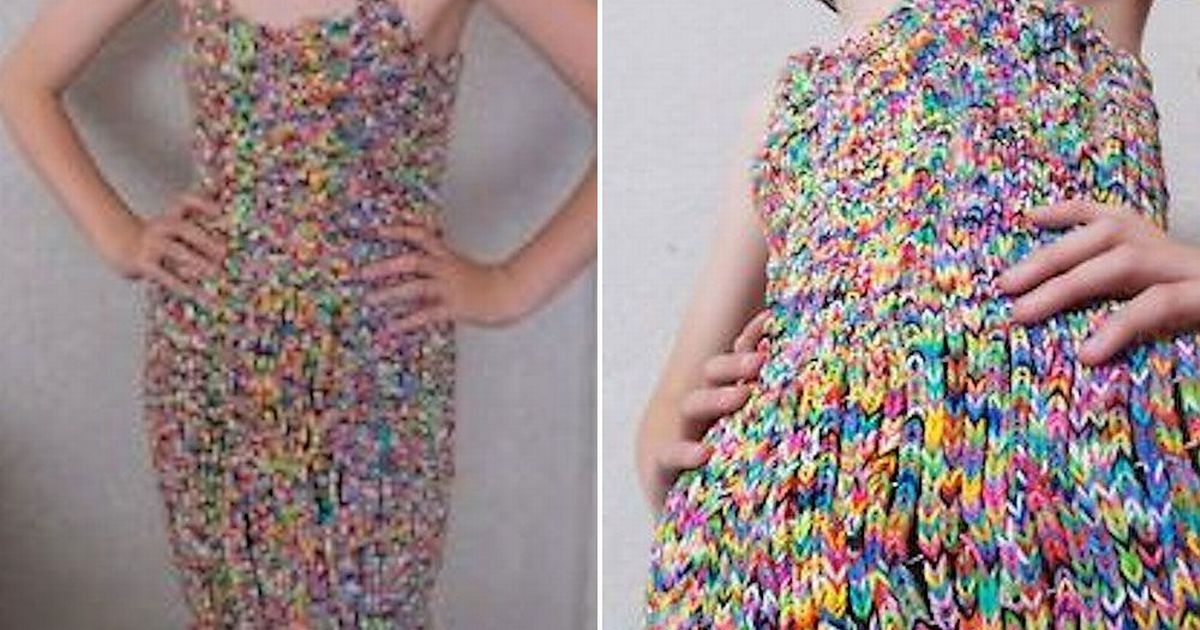 Winning Bidder For 170000 Ebay Loom Band Dress Doesn39t