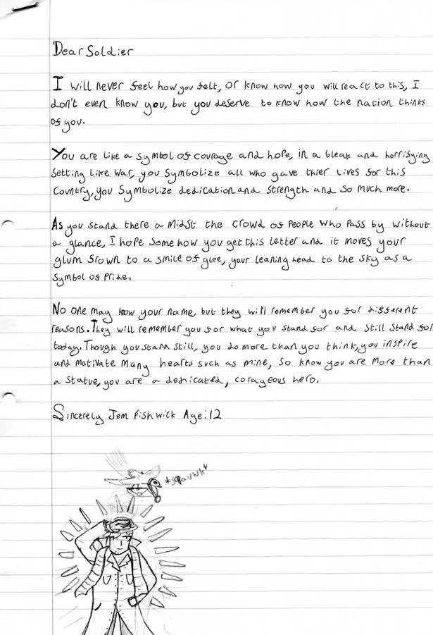 Read schoolboy\u0027s heartfelt Letter to an Unknown Soldier for WW1
