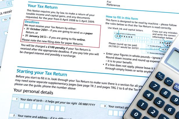 A step-by-step guide to filling in your tax return and getting it - tax form