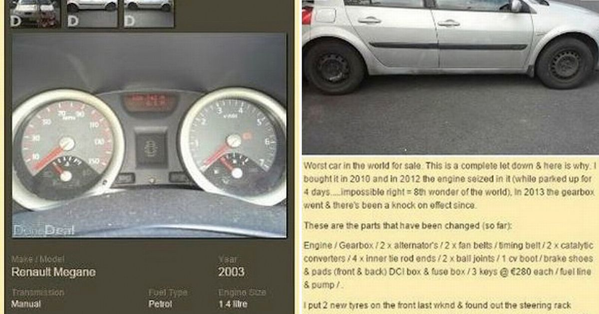 The worst car in the world\u0027 Is this the most hilariously honest