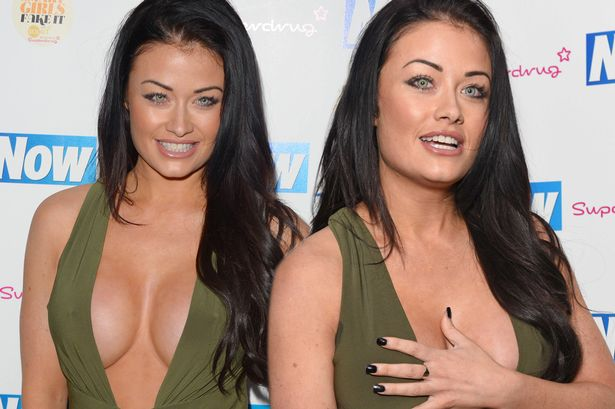 Jess Impiazzi Takes Cleavage To Another Level And Nearly