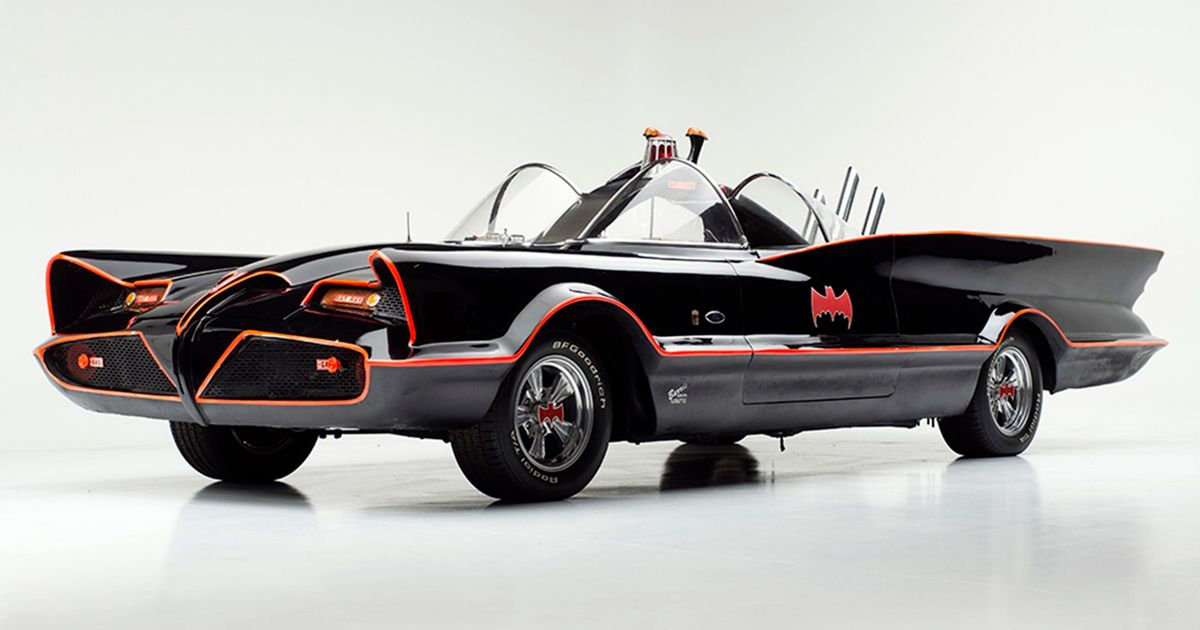 Cheap 3d Wallpaper Uk Adam West Batmobile From Classic Sixties Show Goes To