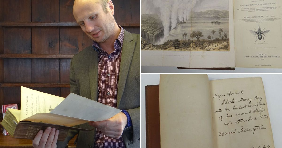 Car boot bargain hunter snaps up £4,000 book signed by Dr