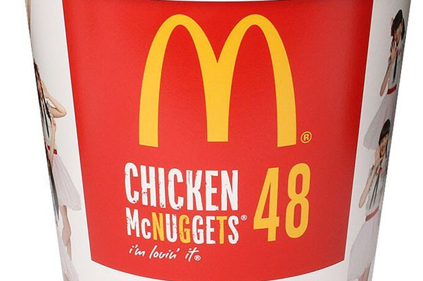 Mcdonald39s Launches Bucket Of Mcnuggets Containing Belly