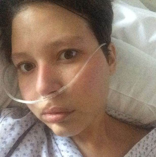 Brave Laura was diagnosed with breast cancer in late 2013