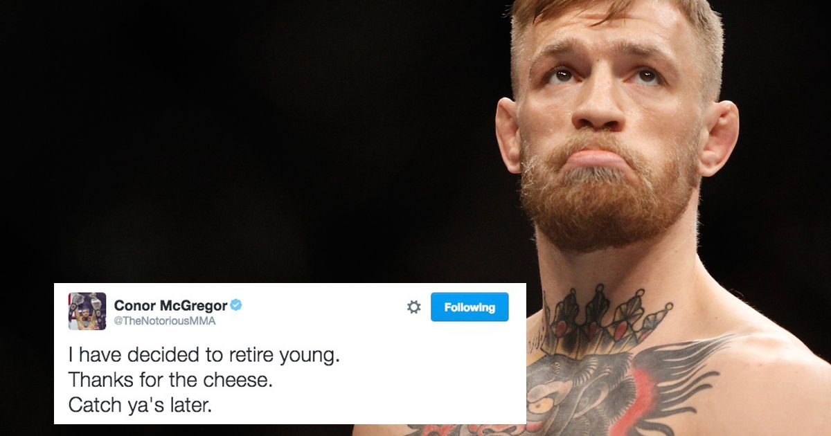Connor Mcgregor Quote Wallpaper Ufc Confirms Conor Mcgregor Pulling Out Of Nate Diaz Fight