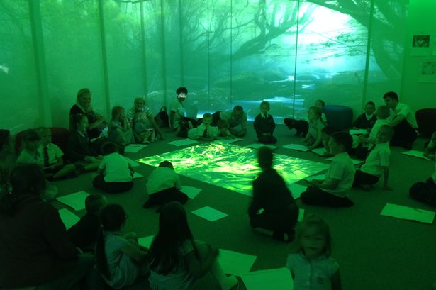 Is this Britain\u0027s most high-tech classroom? Behind the scenes at one