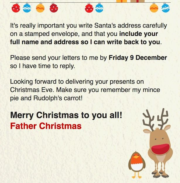How to get a FREE letter from Santa Claus\u0027 address to your children