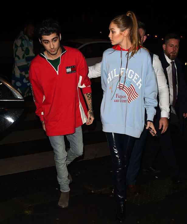 Cute Together Forever Wallpaper Zayn Malik Is So Madly In Love That Girlfriend Gigi Hadid