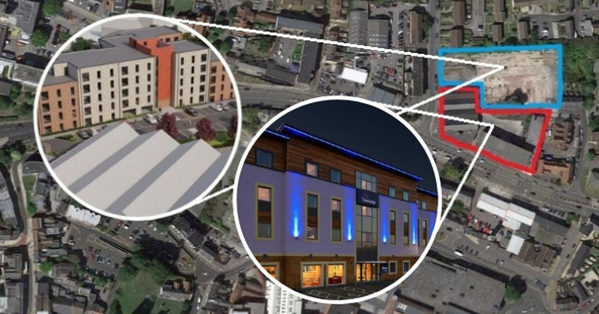 78 Bed Travelodge Part Of Massive Yeovil Town Centre