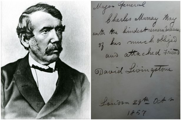 A rare book by distinguished Scottish explorer David Livingstone is