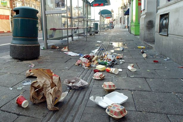 Cardiff Litter Crackdown Issues More Than 1000 In Fines