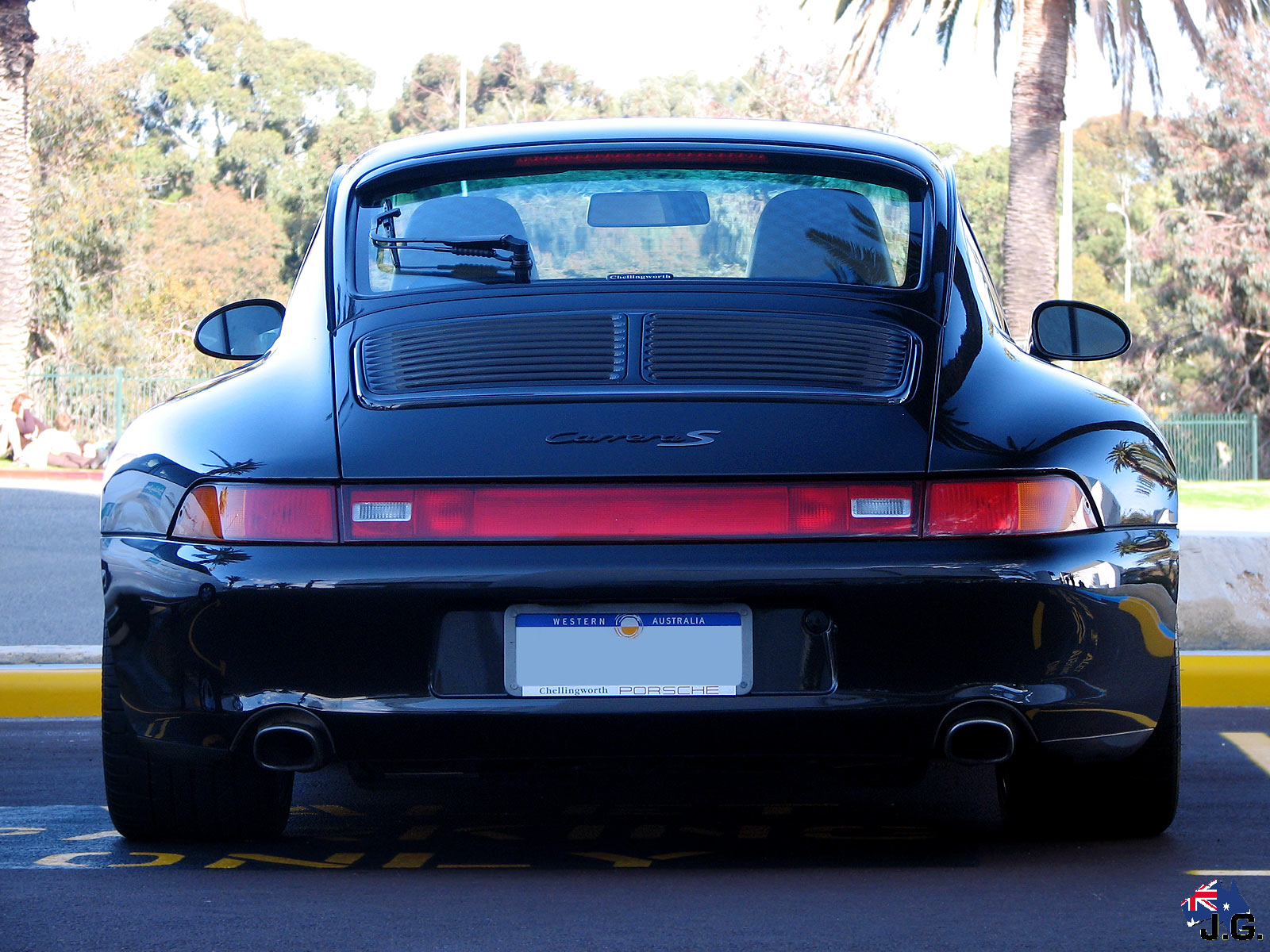 Black And Blue Wallpaper Porsche 993 20 A 241 Os De 233 Xitos 8000vueltas Com