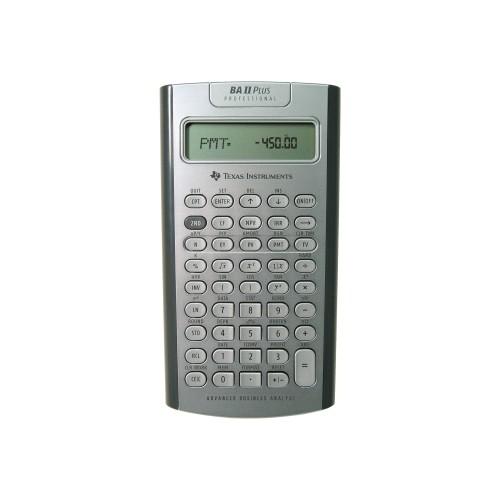 PCM Texas Instruments, BAII PLUS PROFESSIONAL - Financial
