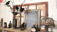 Open house: Elegantly eerie Halloween decor