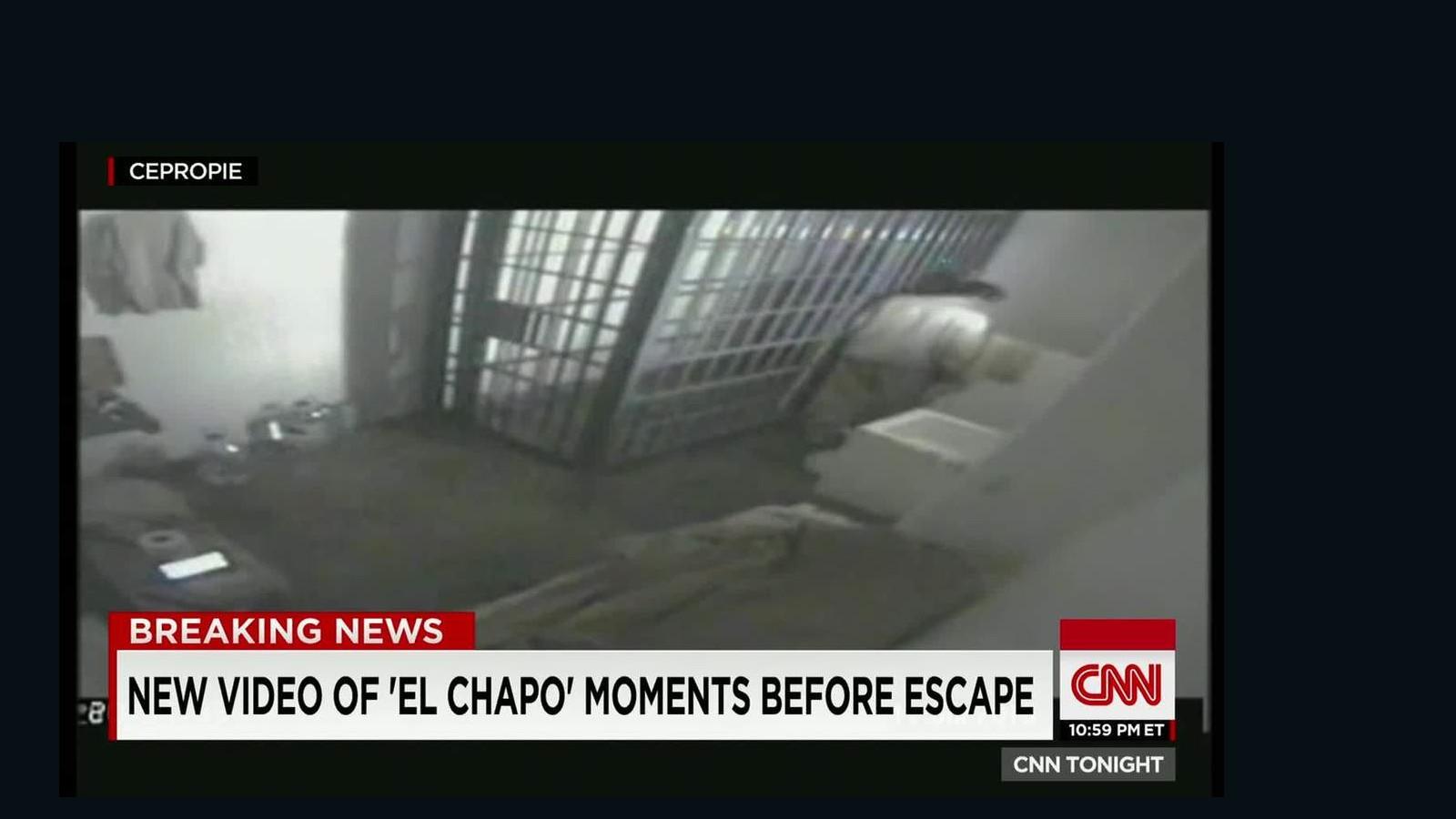 el chapo escape 2015 video