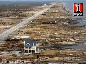 Hurricane Ike aftermath