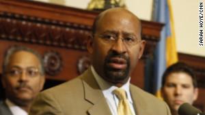 "Philadelphia Mayor Michael Nutter has been outspoken against criminals, calling them \"" dogs\""="