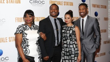 From left, Octavia Spencer, Ryan Coogler, Melonie Diaz and Michael B. Jordan at the July 8 premiere of