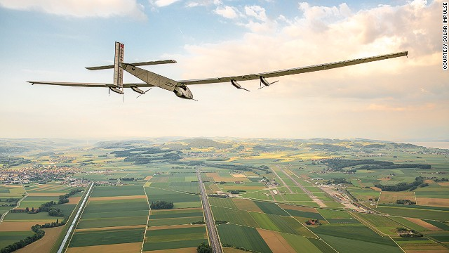 A plane that flies forever? Solar-powered flight to take off in 2015 - how would you weigh a plane without scales