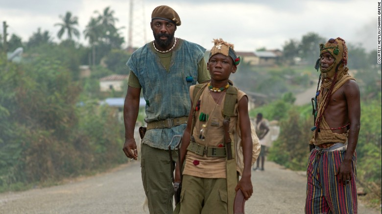 """Beasts of No Nation"" follows a brutal civil war in an unnamed West African country."