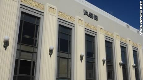 The ASB building, Napier, New Zealand.