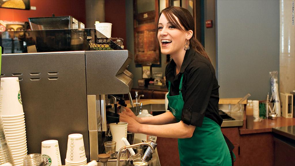 Starbucks baristas battle to keep their tips - starbucks store manager