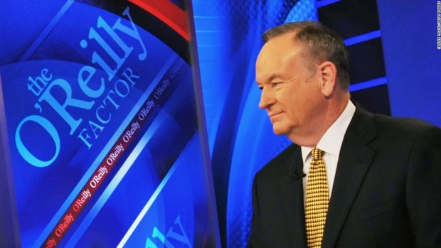 NYT: O'Reilly settled $  32 million sexual harassment claim